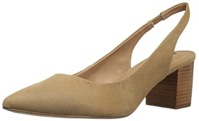 Tahari Women's Ta-Revel Pump, Tan, 6 Medium US