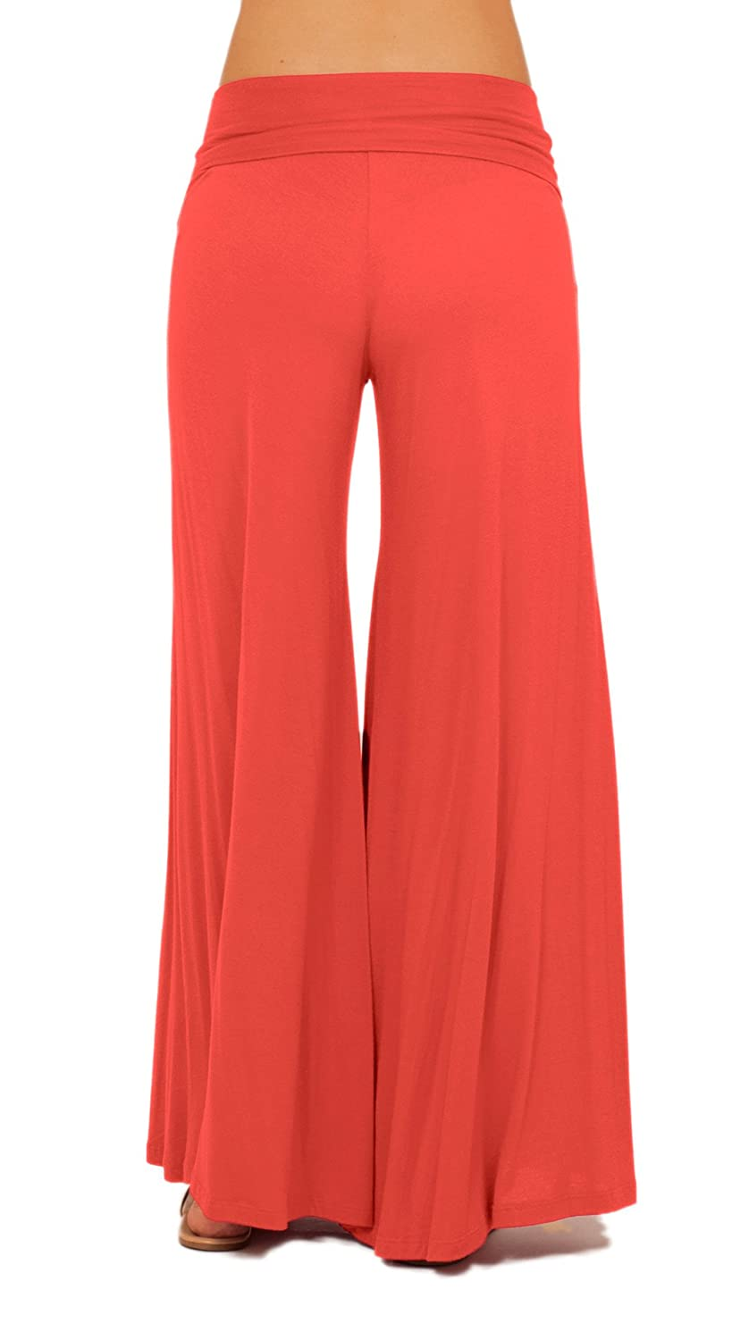 Long Gaucho Boho Flare Elephant Wide Leg Chic Sophisticated Casual ...