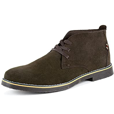 Amazon.com | Alpine Swiss Men's Beck Genuine Chukka Desert Boots ...