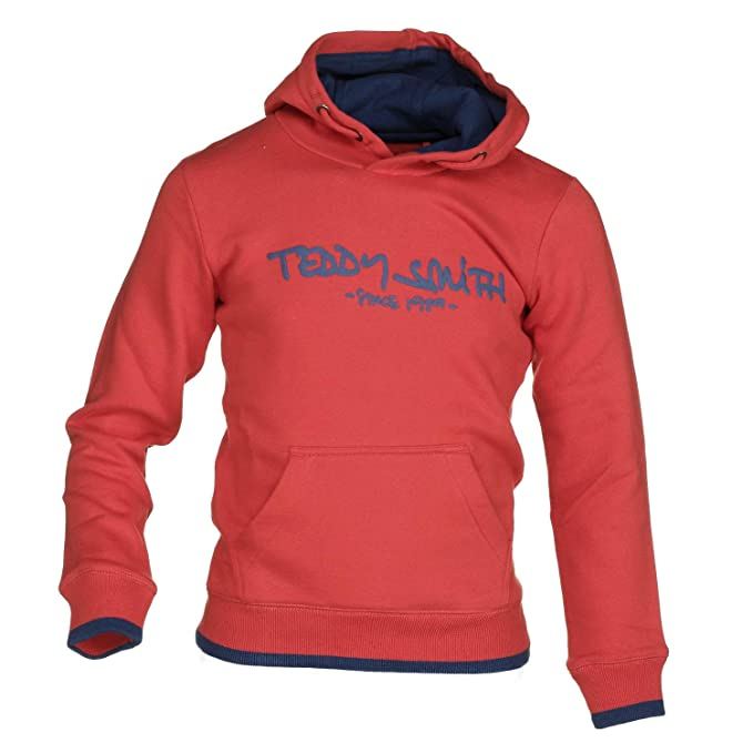 8 Rouge Ans Smith Siclass Teddy Taille Cap Sweat Garçon wgWR06q