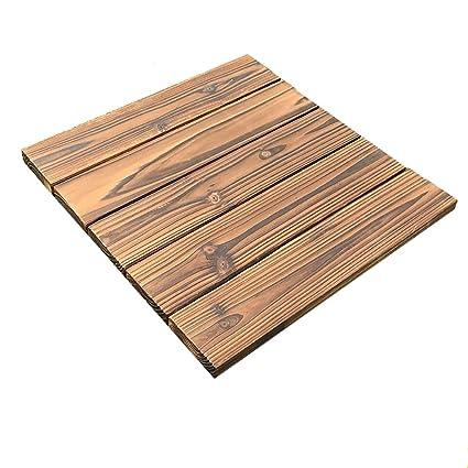 Amazon Flooring Wooden Floor Outdoor Solid Wood Anti Corrosion