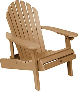 product image for Highwood AD-CHL1-TFE Hamilton Folding and Reclining Adirondack Chair, Adult Size, Toffee