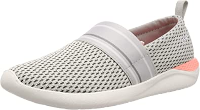 Crocs Womens Literide Mesh Slip-on Shoe Sneaker