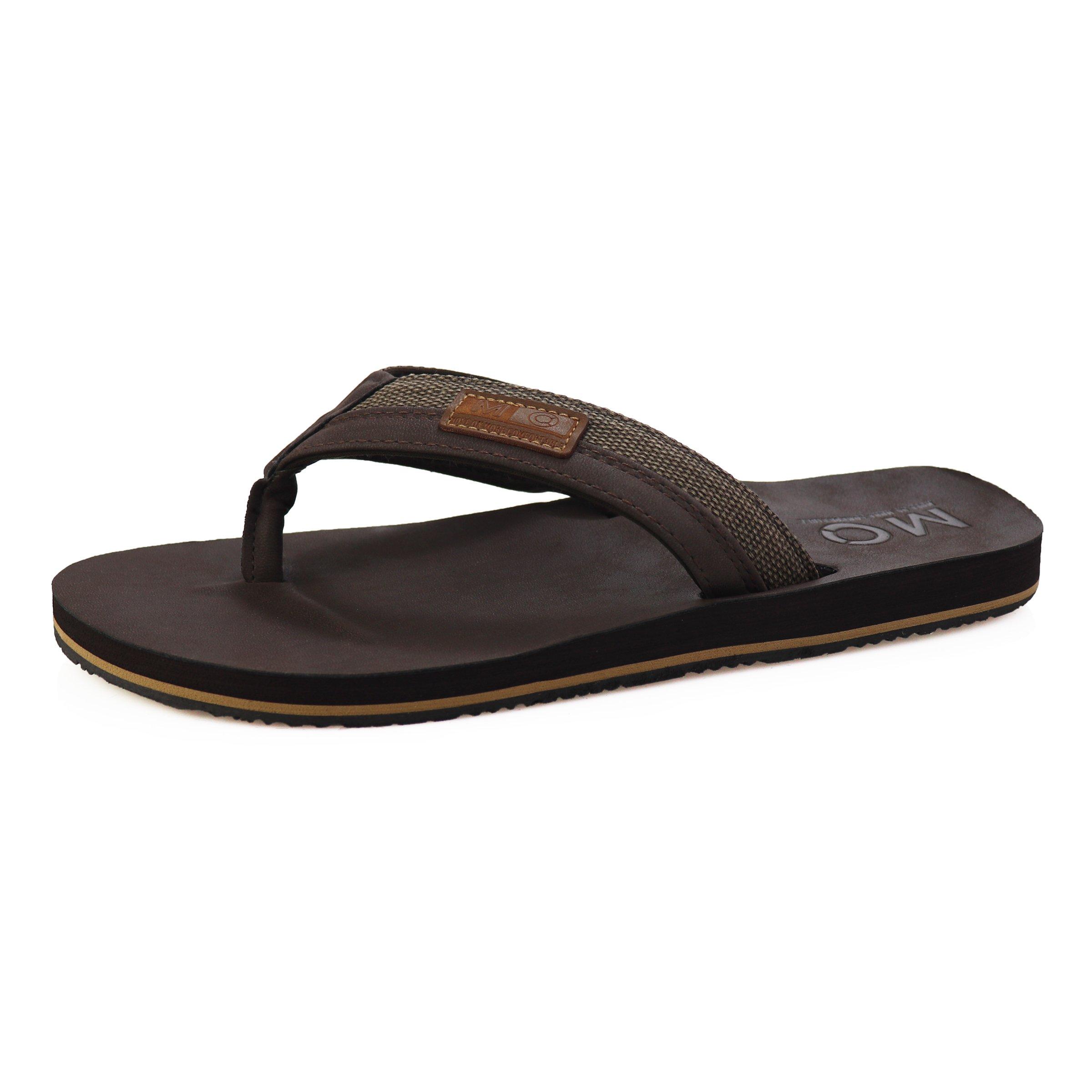 Men's Flip Flops - Light Weight Summer Beach Slippers Thong Sandals for Men