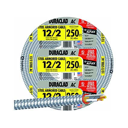 southwire 55274901 type ac armored cable 12 awg electrical wires