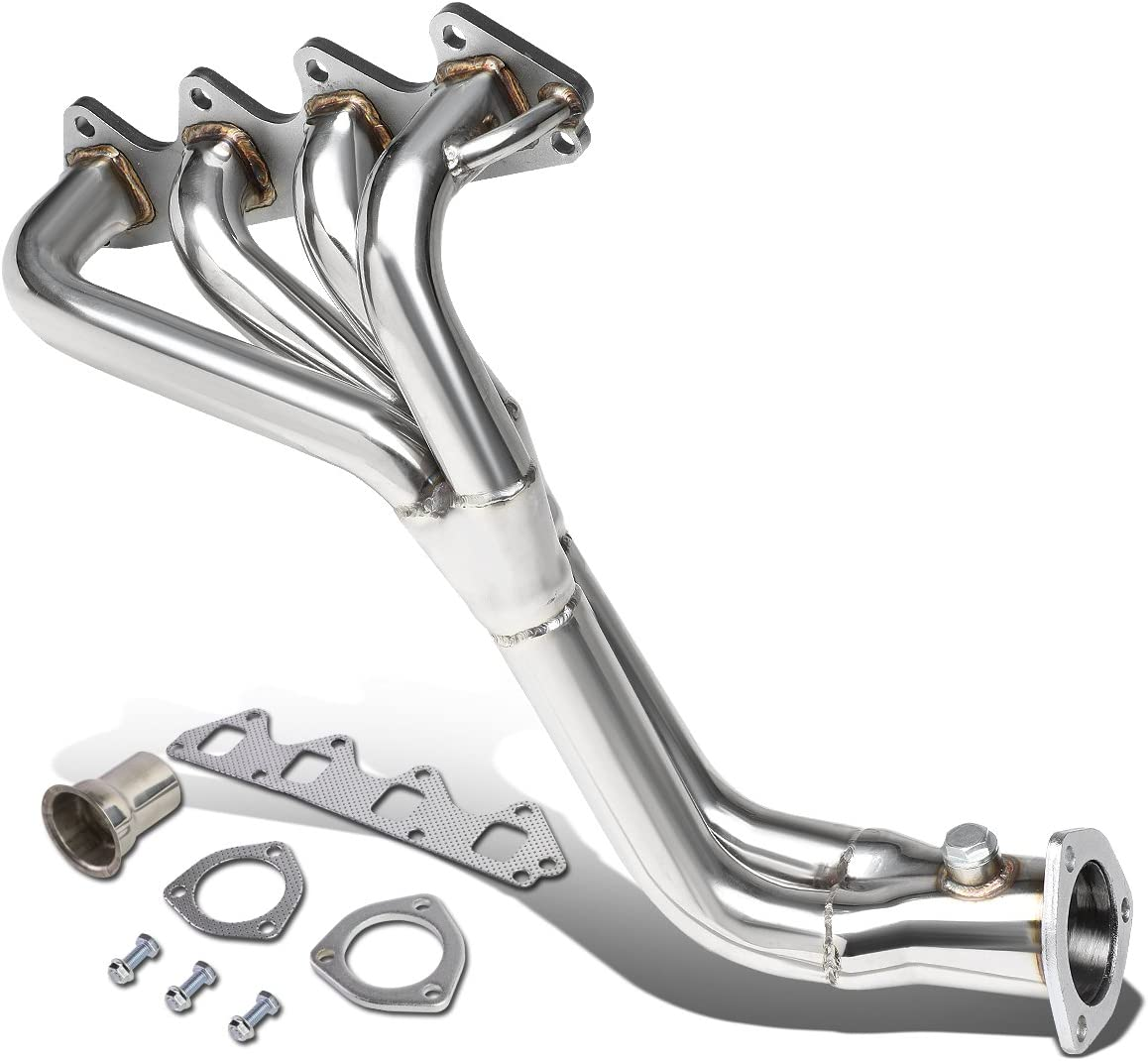 DNA Motoring HDS-SSAM86 Stainless Steel Exhaust Header Manifold