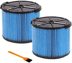 Filter replace RIDGID VF3500 3-Layer Wet/Dry Vacuum Dust Filter for RIDGID WD4050 3 to 4.5 Gallon Vacuums