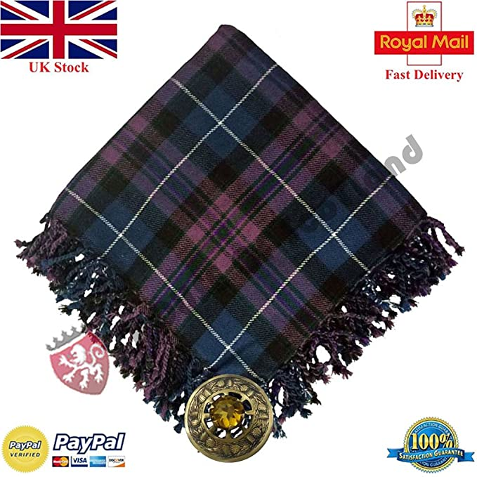 Kilt Fly Plaid Pride of Scotland Tartan Acrylic 48