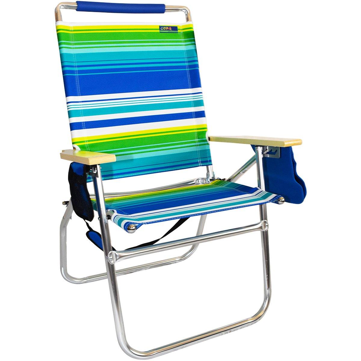 Copaビーチ18インチ高SeatビッグTycoonビーチ椅子   B07FC3L7TR