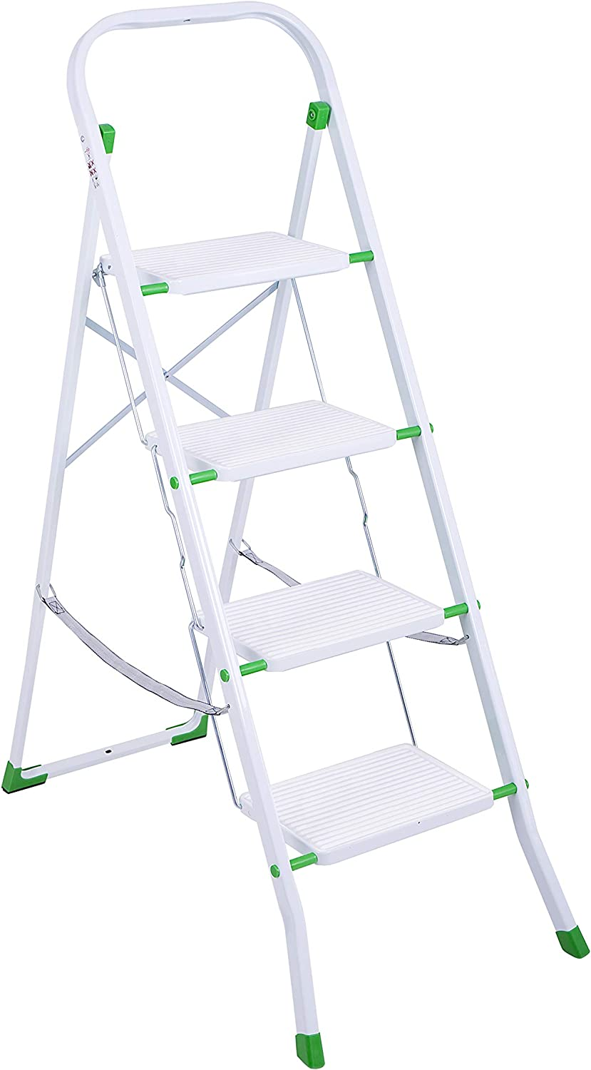 Eurogold Escalera, Blanco, 30x20: Amazon.es: Hogar