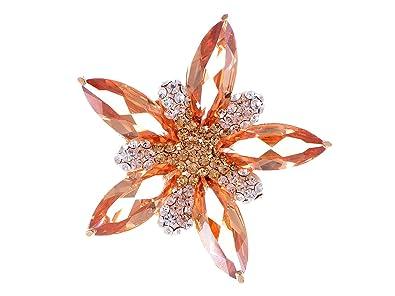 4cd9b79a6 Amazon.com: Alilang Women's Shine Topaz Pink Swarovski Crystal Star ...