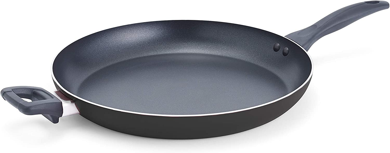 T-fal A74009 Specialty Nonstick Giant Family Fry Pan Cookware, 13-Inch, Black