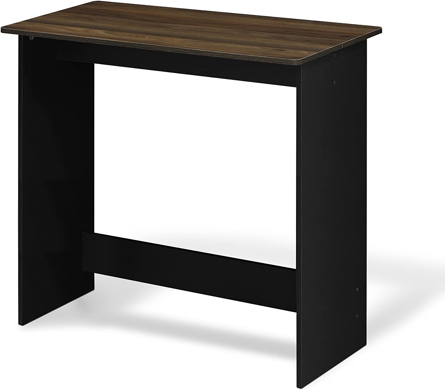 FURINNO Simplistic Study Table, Columbia Walnut
