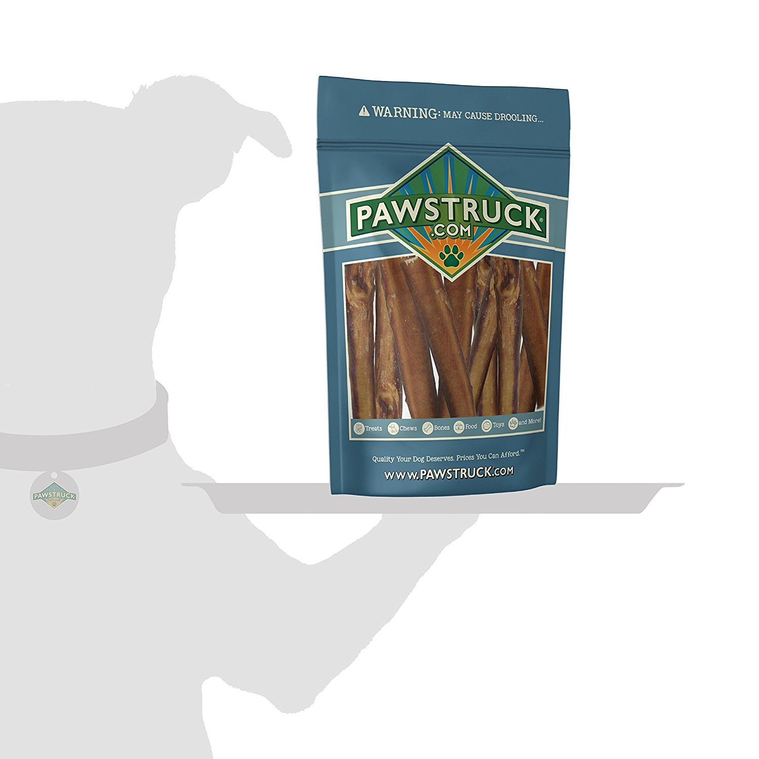 5'' Straight Bully Sticks for Dogs or Puppies (50 Pack) All Natural & Odorless Bully Bones | Grass-Fed Beef | Medium Thickness Long Lasting Dog Chew Dental Pizzle Treats | Best Thick Bullie Stix