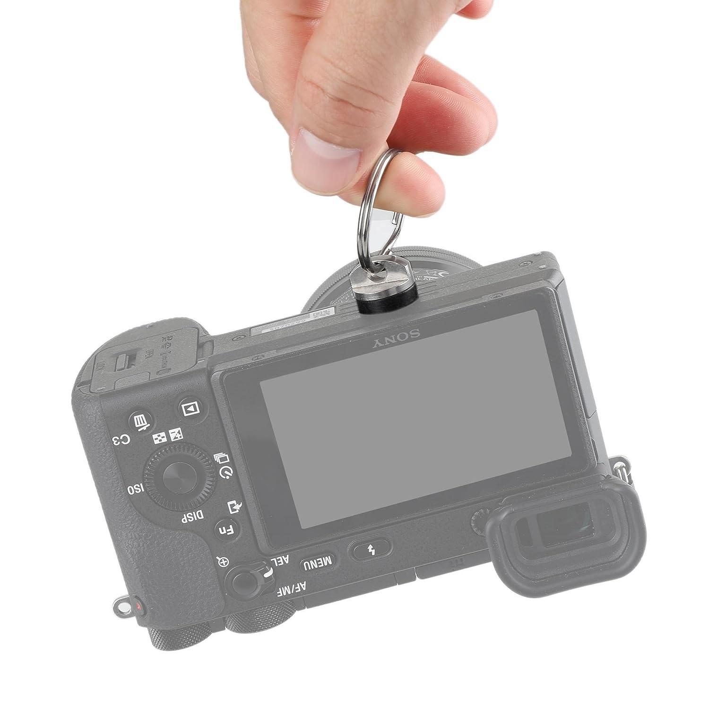 1600 SMALLRIG 1//4 Vite Telecamera Gabbia della Fotocamera Avvolgibile a Cricchetto per il Morsetto di Sgancio Rapido