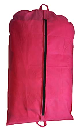 8f531cfbe86b Pink Suit Cover Garment Bag Clothes Cover Bag