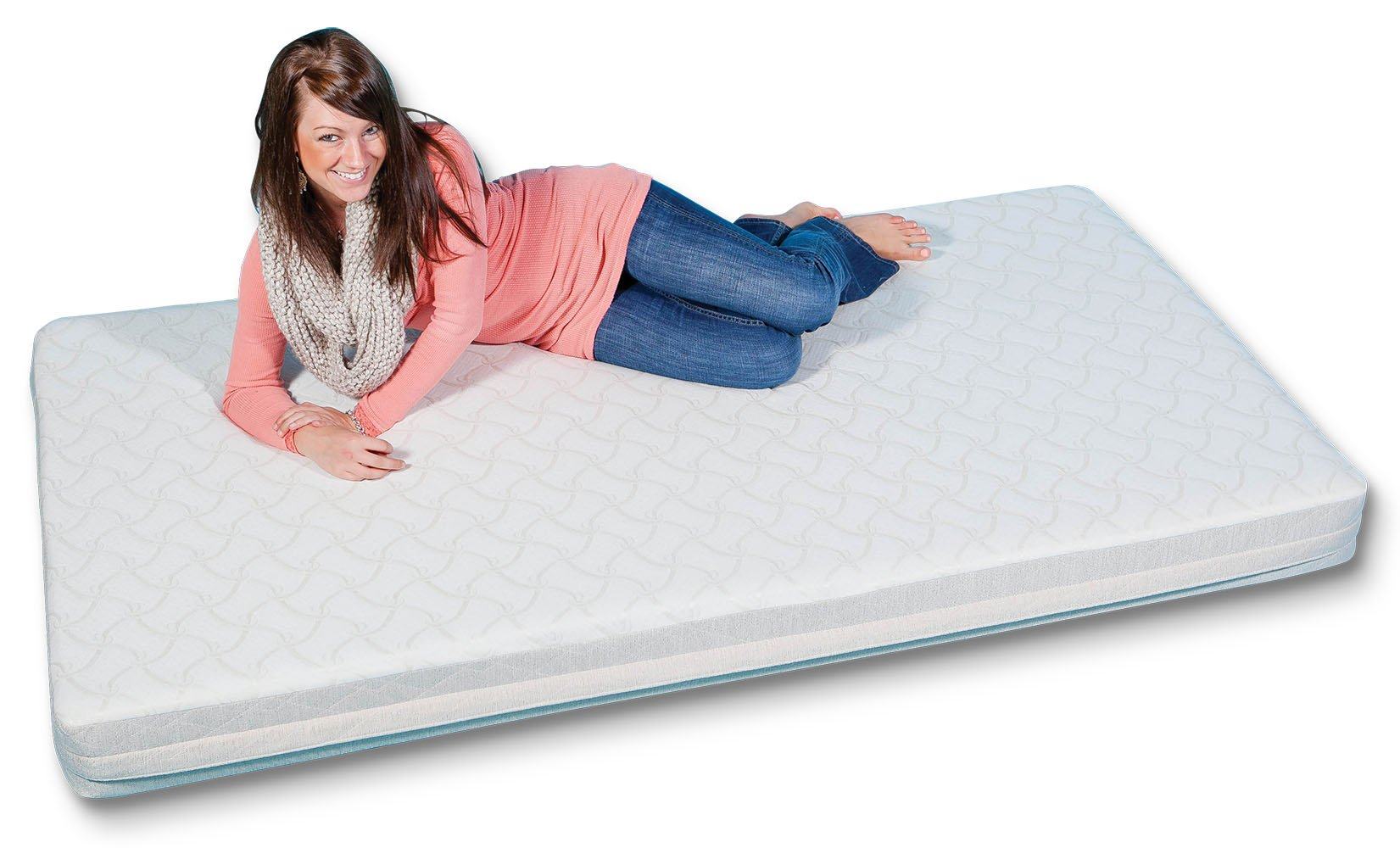 Camp Elite 80'' X 34'' X 6'' Premium Memory Foam Camp Mattress