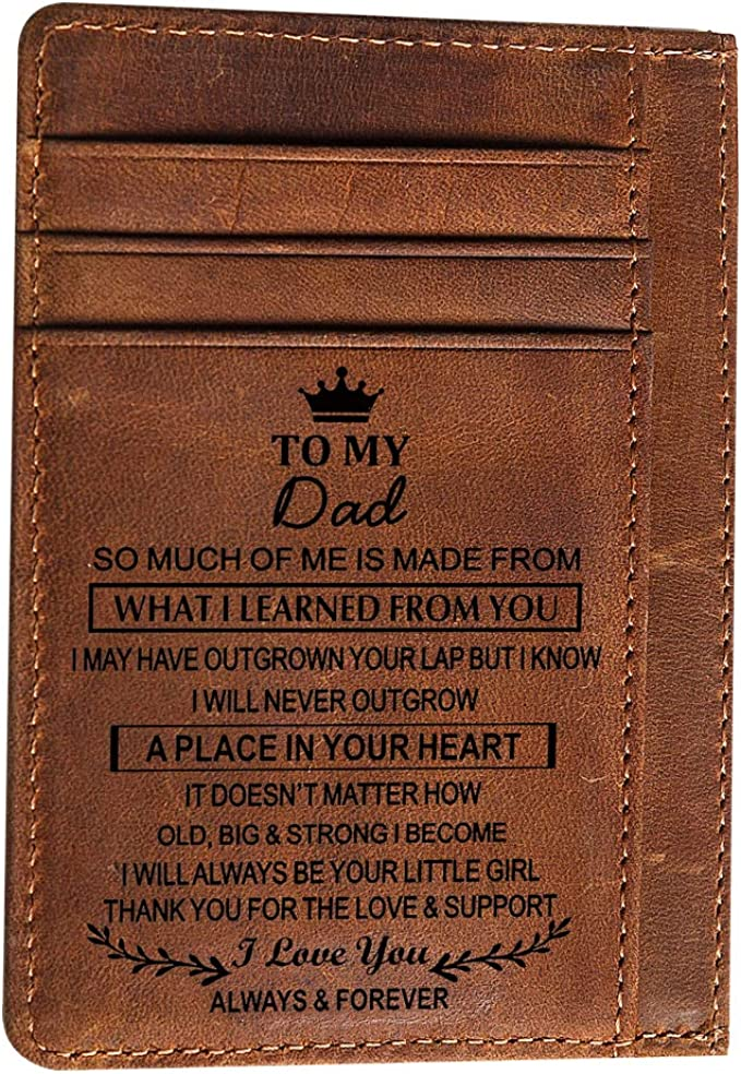 Amazon.com: Cartera de bolsillo con grabado para mi hijo ...