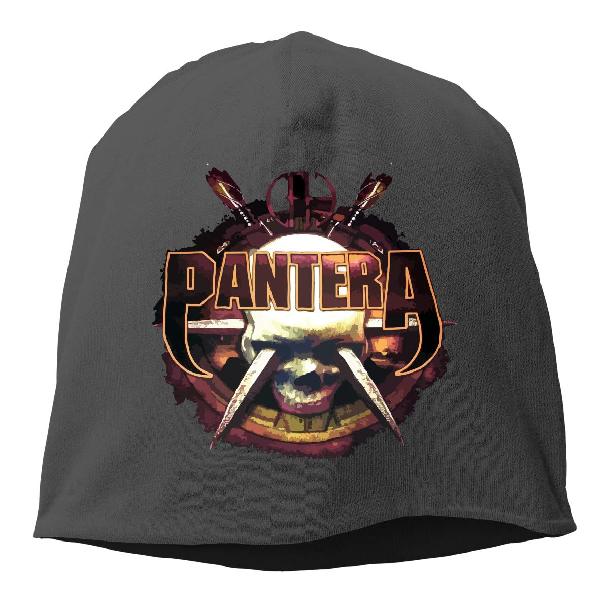 LixuA Beanie Skull Pantera Men Women Warm Comfortable Cotton Skull Knit Hat Cap