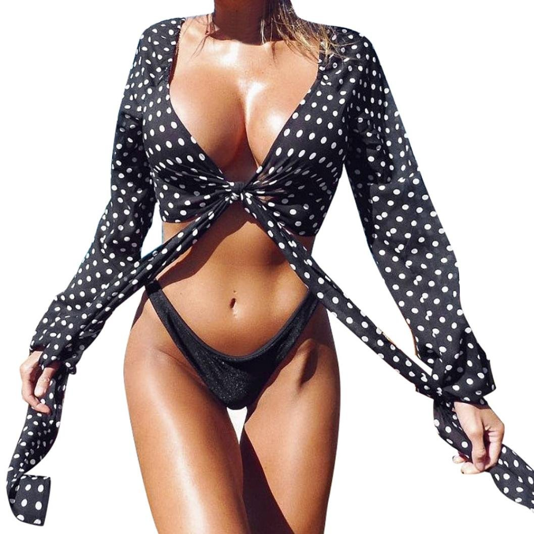 Inverlee Summer Womens Plus Size One-Piece Swimsuit Fashion Swimwear Beachwear Bikini