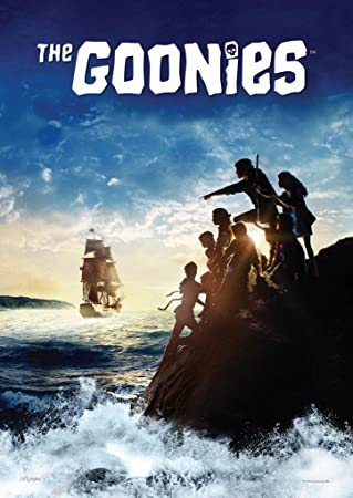 MightyPrint Goonies Movie Pirate Ship 80s Wall Art Lasting Light Catching Paper