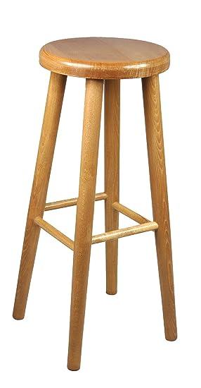 bar stool wooden chair brand new beech solid wood bar pub new 2 4 ft