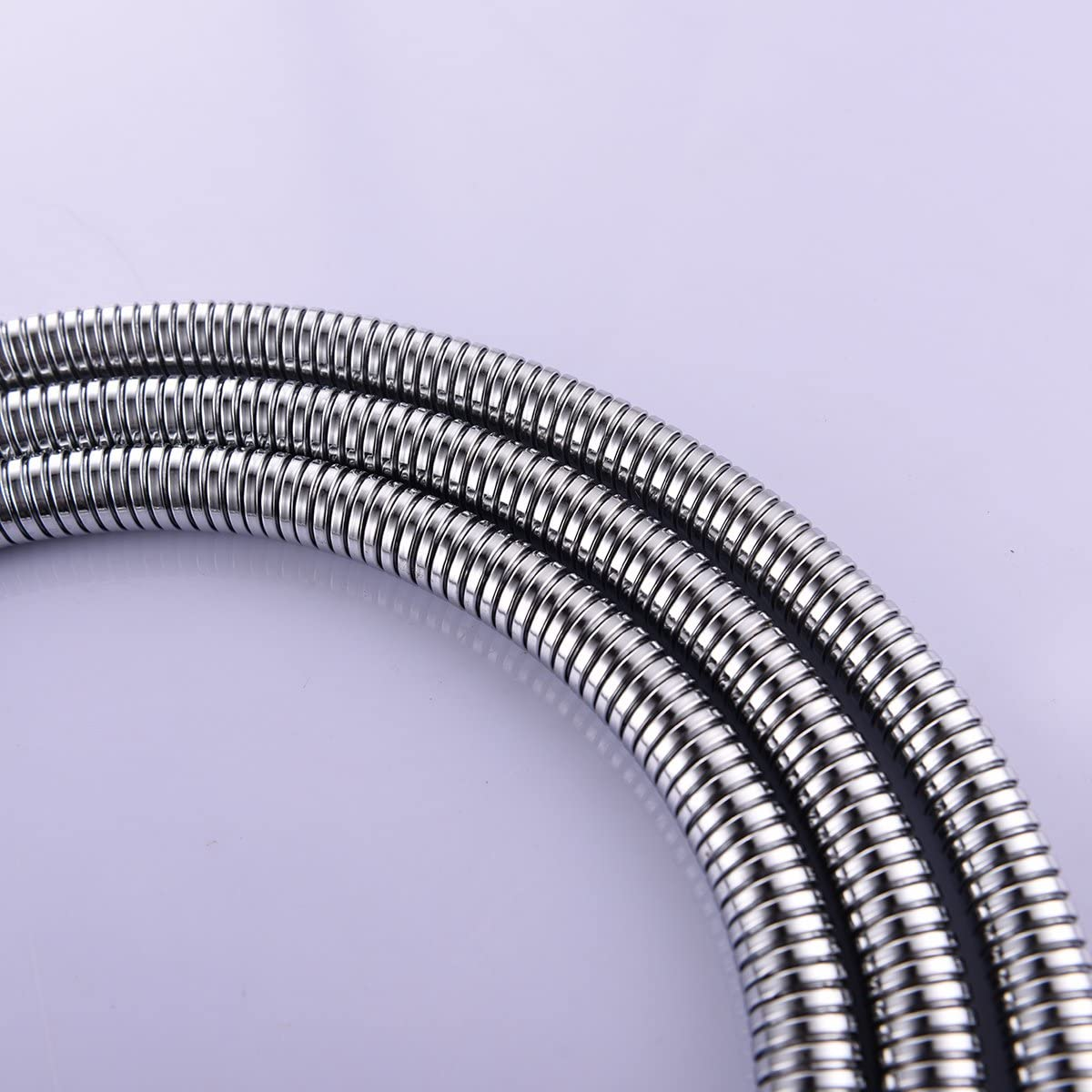 Ciencia Ressort de tuyau de douche flexible en acier inoxydable avec raccord en laiton massif or