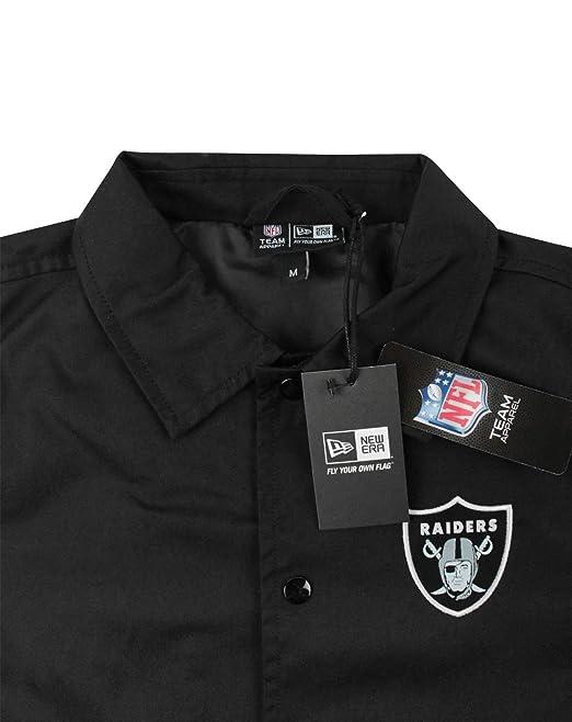 A NEW ERA Hombres Oakland Raiders - Chaqueta (S): Amazon.es ...