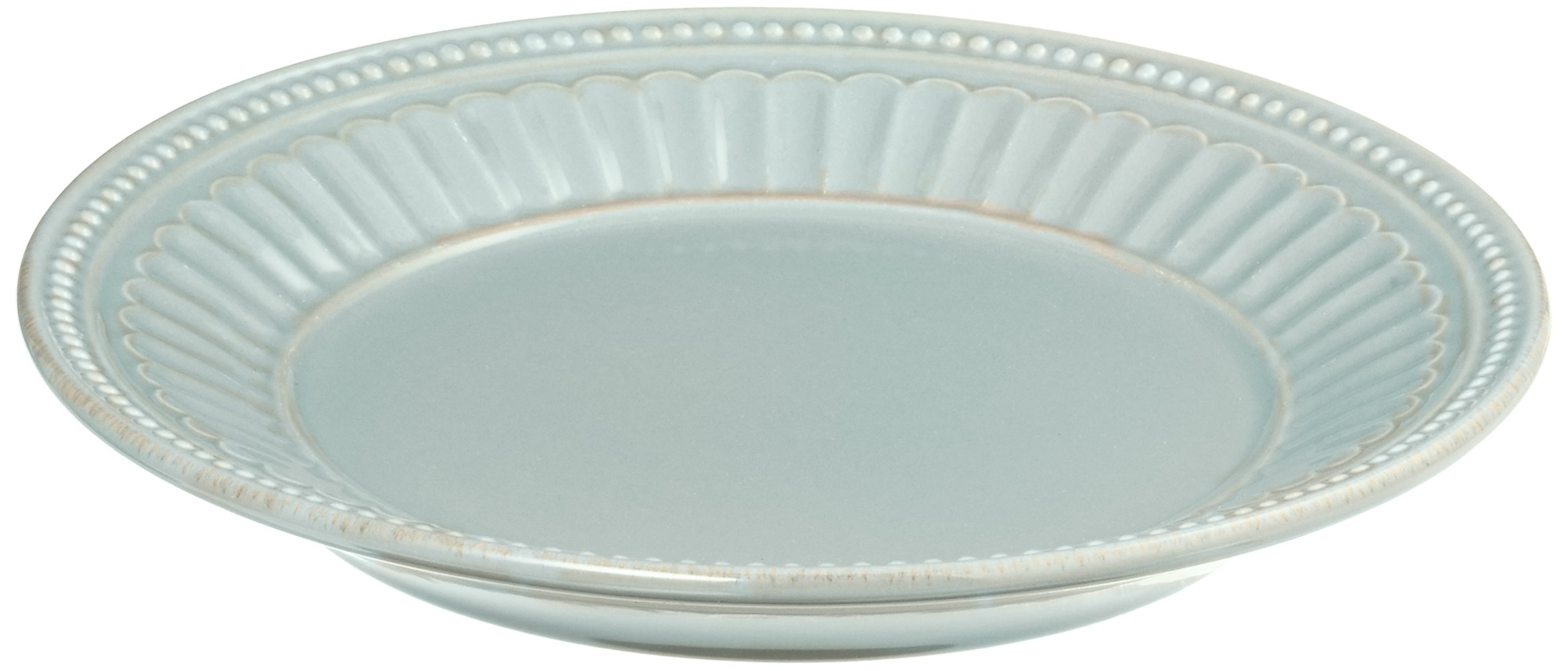 Lenox French Perle Everything Plate, Ice Blue by Lenox