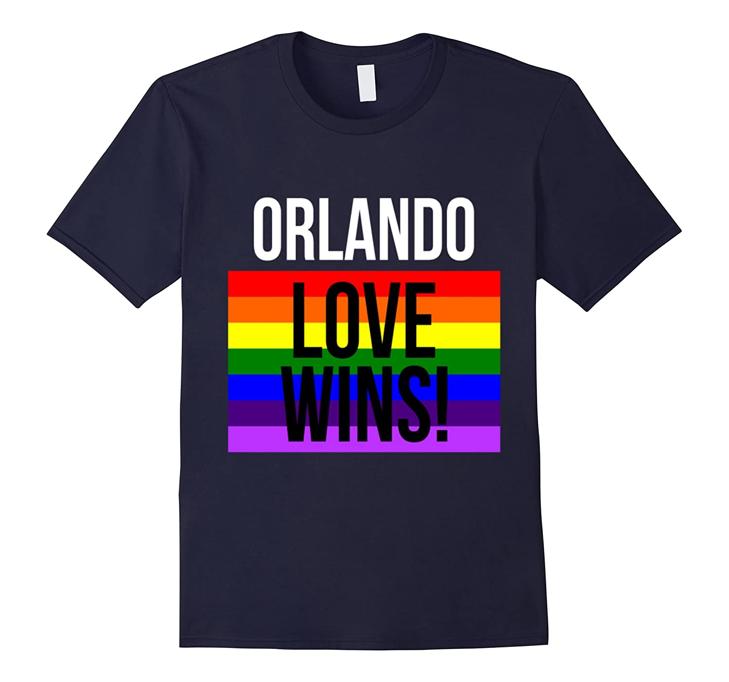 #Orlando Love Wins! T-Shirt For LGBT Gay Pride Month 2016-BN