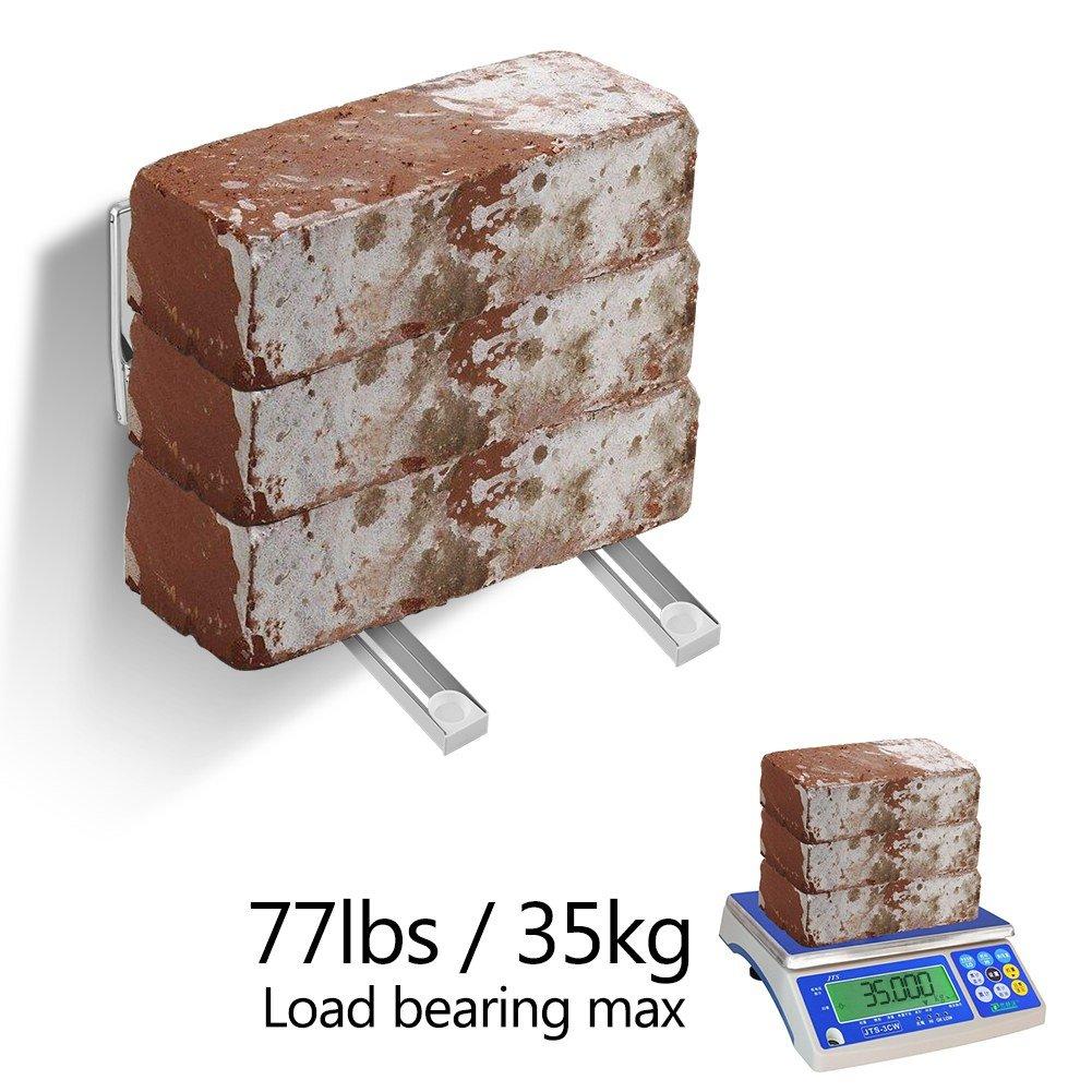 Amazon.com: Leyeet - 1 par de soportes para microondas de ...