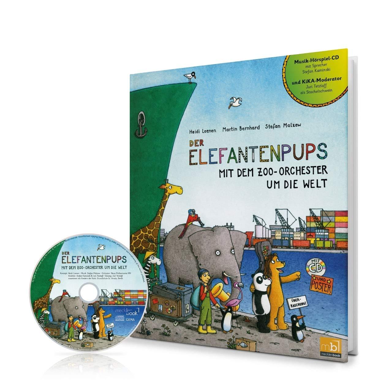Der Elefantenpups  Mit Dem Zoo Orchester Um Die Welt