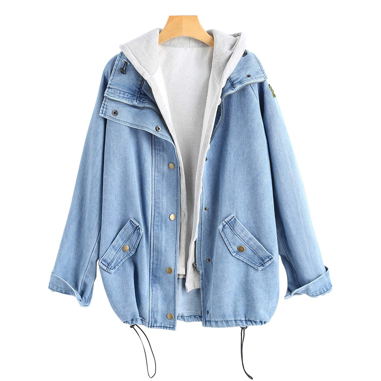 black-shop 2018 Autumn Button Up Ladies Denim Women Jacket ...