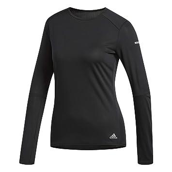 Adidas Dm3140 Camiseta Mangas Largas, Mujer: Amazon.es: Deportes y aire libre
