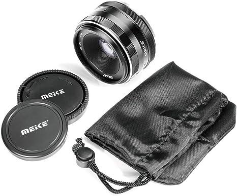 Meike 25mm f/1.8 Lente gran angular de apertura gran lente de ...