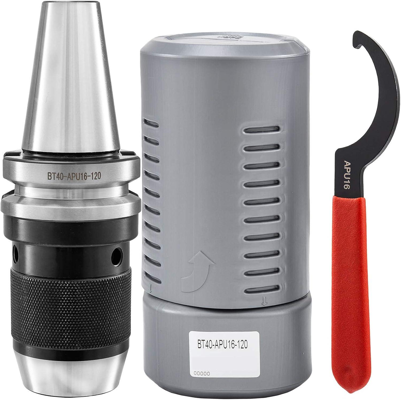 BT40-APU13-110 Chuck Holder Drill Chuck Milling Keyless Precision Durable