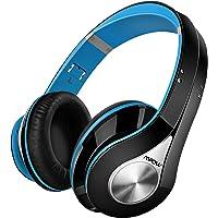 Mpow 059 Auriculares Inalámbricos de Diadema,Cascos Bluetooth Plegable con Micrófono Manos Libres y Hi-Fi Sonido Estéreo 20hrs Reproducción de Música Orejeras Memoria Suave,Rosa