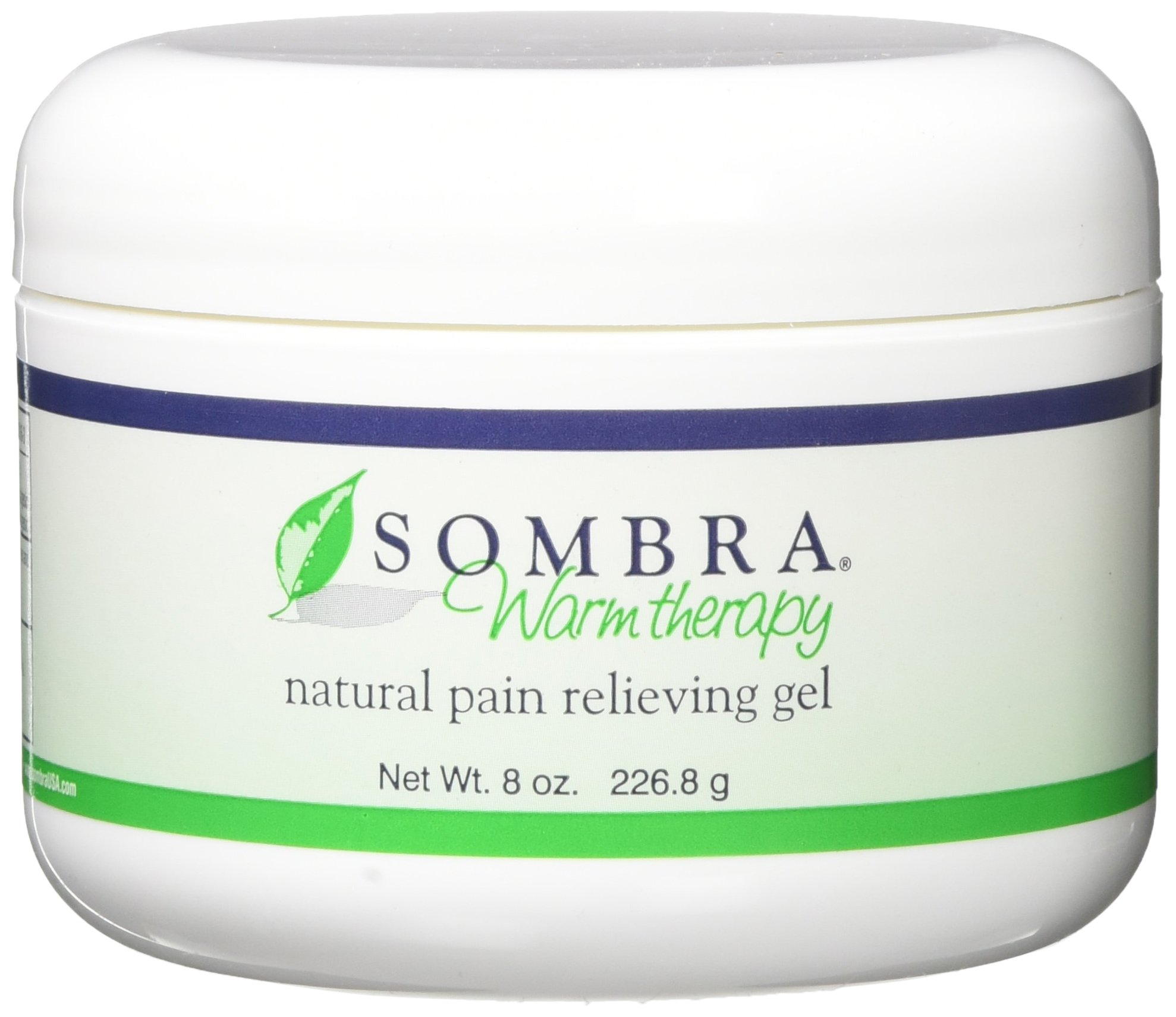 Sombra Warm Therapy Pain Relieving Gel, 8 Ounce, 2 Count