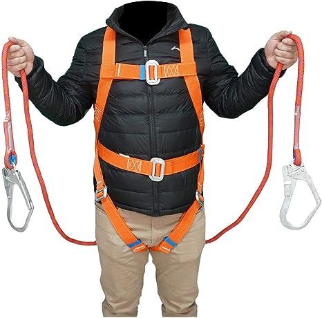 WGE Arnés para Escalada al Aire Libre, Cinturón de Seguridad ...