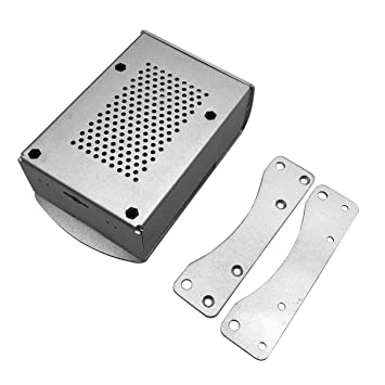 fghfhfgjdfj para Raspberry Pi 4B Caja de Aluminio Caja de Metal ...