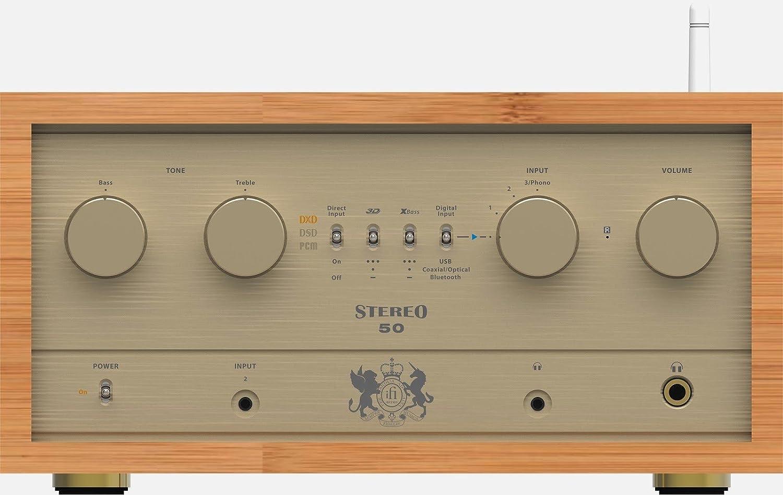 Amplificador integrado Stereo 50 retro iFi Audio: Amazon.es ...