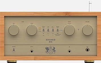 Amplificador integrado Stereo 50 retro iFi Audio