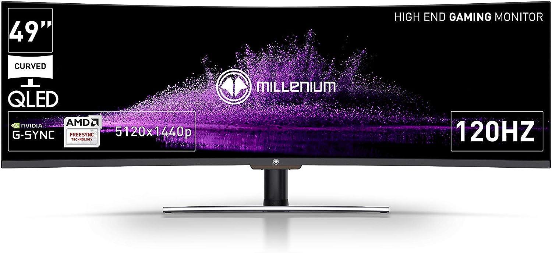 Millenium MD49 DQHD - Monitor Gaming de 49