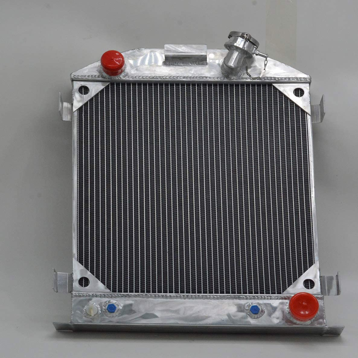 FOR 3 ROW Ford 1932 hot rod w//Chevy 350 V8 engine aluminum radiator