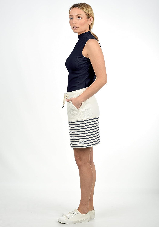 Desires Pippa Falda Minifalda Falda Deportiva para Mujer con Estampado De 100/% Algod/ón