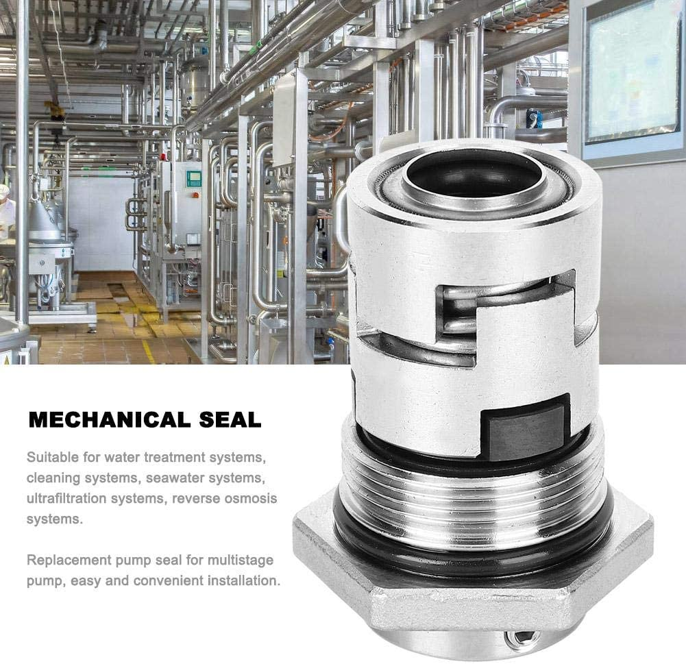 CR20-17 16mm Stainless Steel Vertical Multistage Pump Mechanical Seal Shaft Seal Replacement for CR CRN 182g//6.4oz