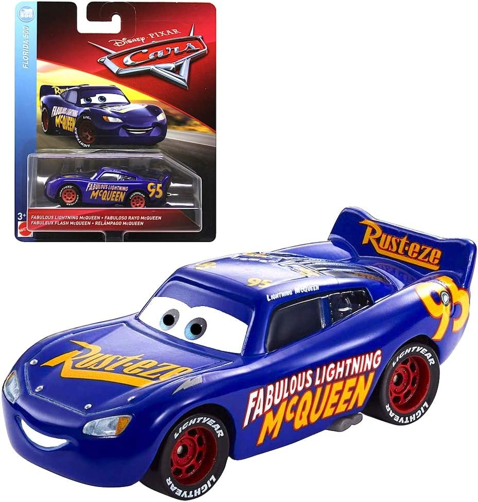 Amazon Com Fabulous Lightning Mcqueen Florida 500 Disney Cars