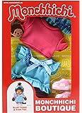 Sekiguchi 254710 - Monchhichi Boutique A2 Tunique Chemise Bleue Rose