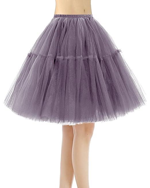e856b9d4e Bridesmay Faldas Cortas De Mujer Cancan Enagua para Fietsa Boda
