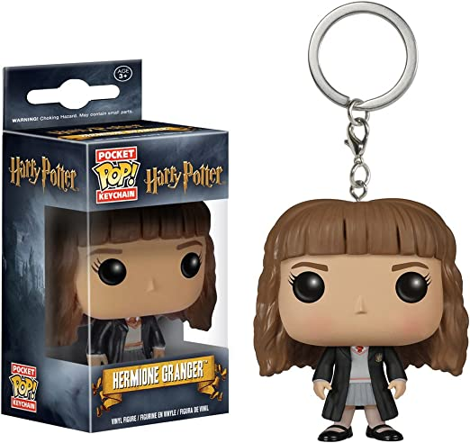 Rallador de hermoinas de Harry Potter: Pocket Pop. x Llavero Mini-Figura + 1 paquete de tarjeta de comercio oficial [76177]